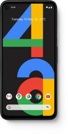 Pixel 4A 6 GB RAM 128 GB Storage Black
