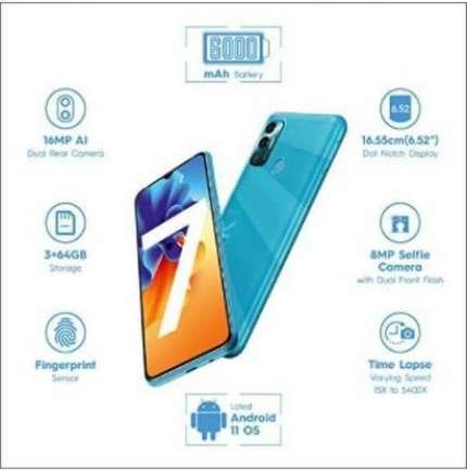 Spark 7 2 GB RAM 32 GB Storage Blue