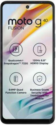 Moto G40 Fusion 4 GB RAM 64 GB Storage Yellow
