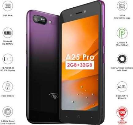 Itel A25 Pro