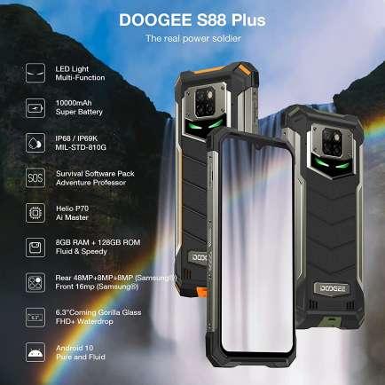 S88 Plus 8 GB RAM 128 GB Storage Orange
