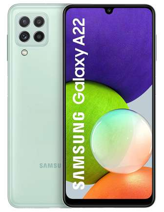 Samsung Galaxy A22 Front Back