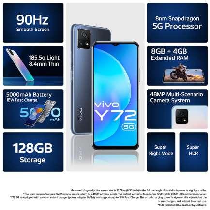 Vivo Y72 5G Side 2
