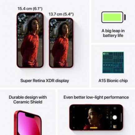 iPhone 13 6 GB RAM 256 GB Storage Red